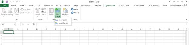 Using the Dynamics AX Excel Add-In - Microsoft Dynamics AX Community