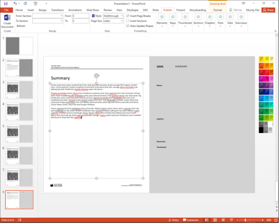 Building Walkthrough Guides With PowerPoint Using The Author Tools ...